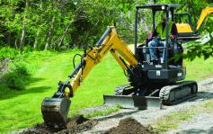 New Holland Compact  Excavator E26C